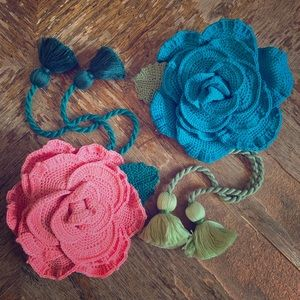 Accessories - Crocheted Roses Handmade